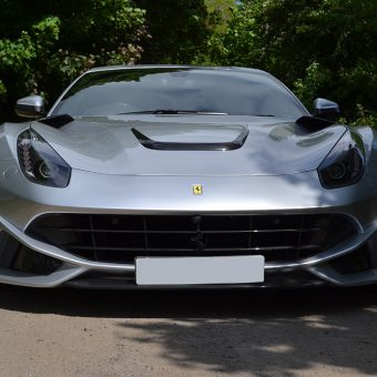 Ferrari F12 Wrap Before Front