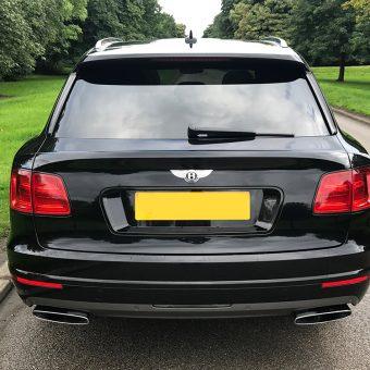 Bentley Bentayga Dechrome Black