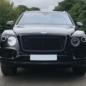 Bentley Bentayga Dechrome Front