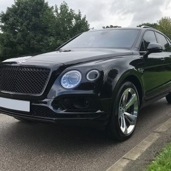 Bentley Bentayga Dechrome Front Angled
