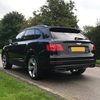 Bentley Bentayga Dechrome Rear