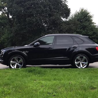 Bentley Bentayga Dechrome Side