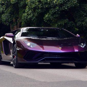 Lamborghini Aventador Wrapped ColorFlow Front