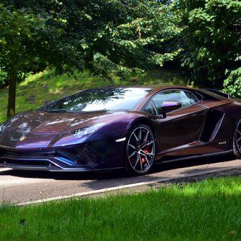Lamborghini Aventador Wrapped-ColorFlow-Rushing Riptide Reforma UK