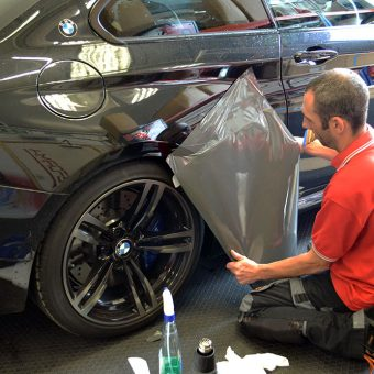 BMW M3 Custom Side Graphics Ben Fitting