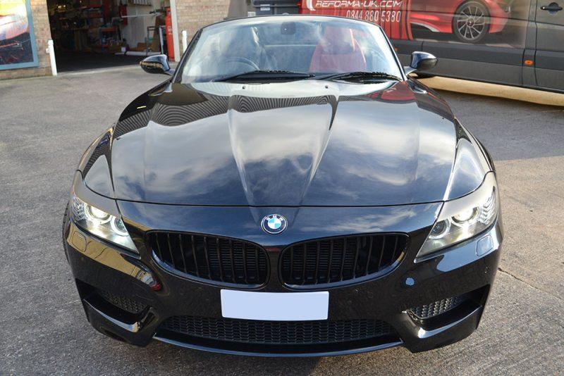 BMW Z4 Custom Wolf Graphics Front