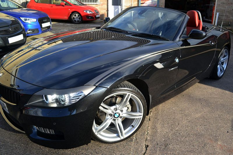 BMW Z4 Custom Wolf Graphics Front Graphics