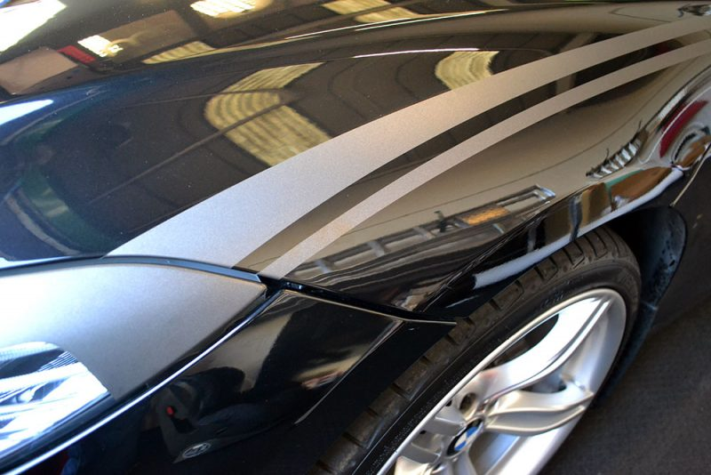 BMW Z4 Custom Wolf Graphics Front Wing Graphics