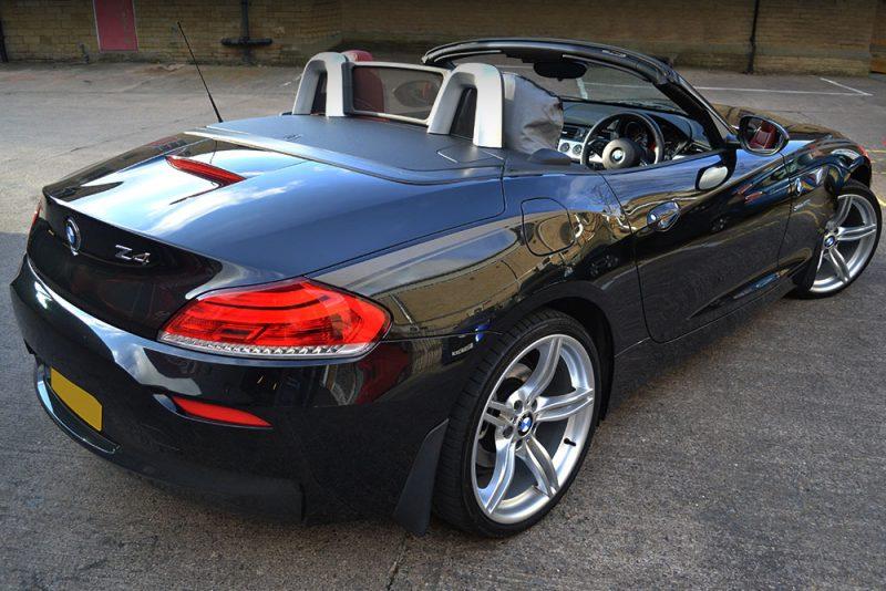 BMW Z4 Custom Wolf Graphics Rear