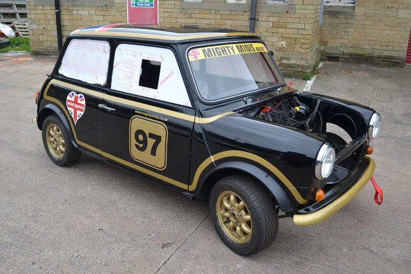 Classic Mini Race Graphics Front