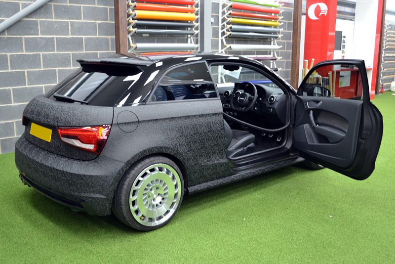 Audi A1 3M 1080 Shadow Black Door Inserts