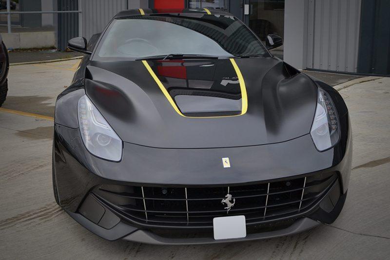 Ferrari F12 Kahn Vinyl Graphics Nose