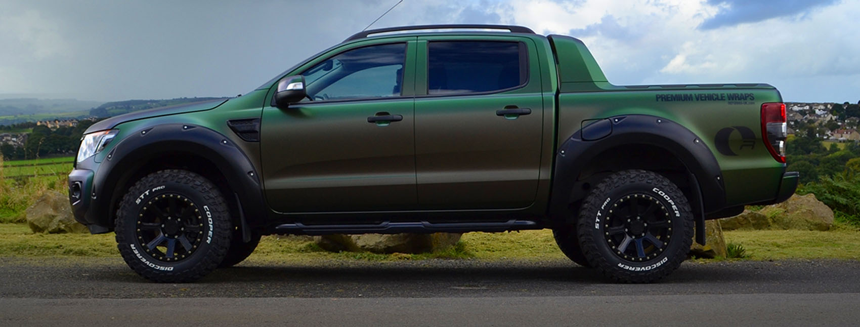 Ford Ranger Wraptor Reforma UK Banner