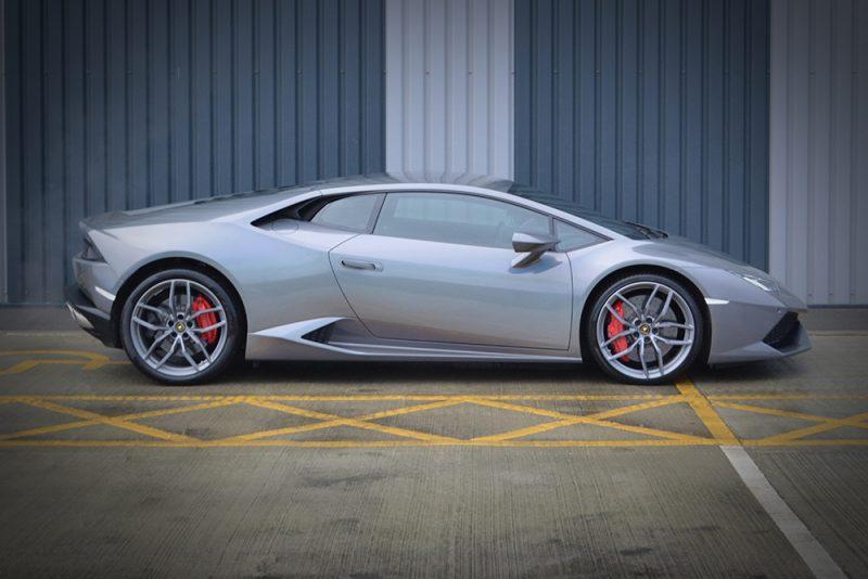 Lamborghini Huracan 3M 1080 Psychedelic Wrap Side