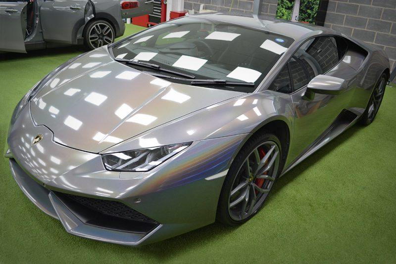 Lamborghini Huracan 3M Psychedelic Wrap