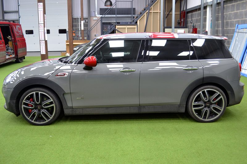 Mini Countryman Custom Roof Wrap Zak Kahn Side