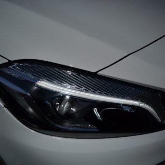 Mercedes A Class 3M 1080 Storm Grey Closeup