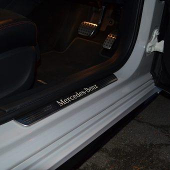 Mercedes A Class Storm Grey Wrap Door