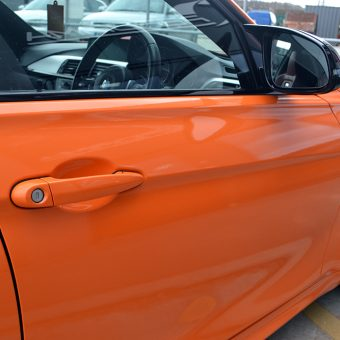 BMW M3 Gloss Burnt Orange Reforma UK Bradford