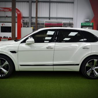 Bentley Bentayga Dechrome Reforma UK Side