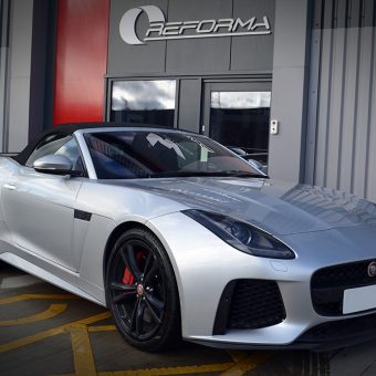 Jaguar F-Type Satin Metallic Grey