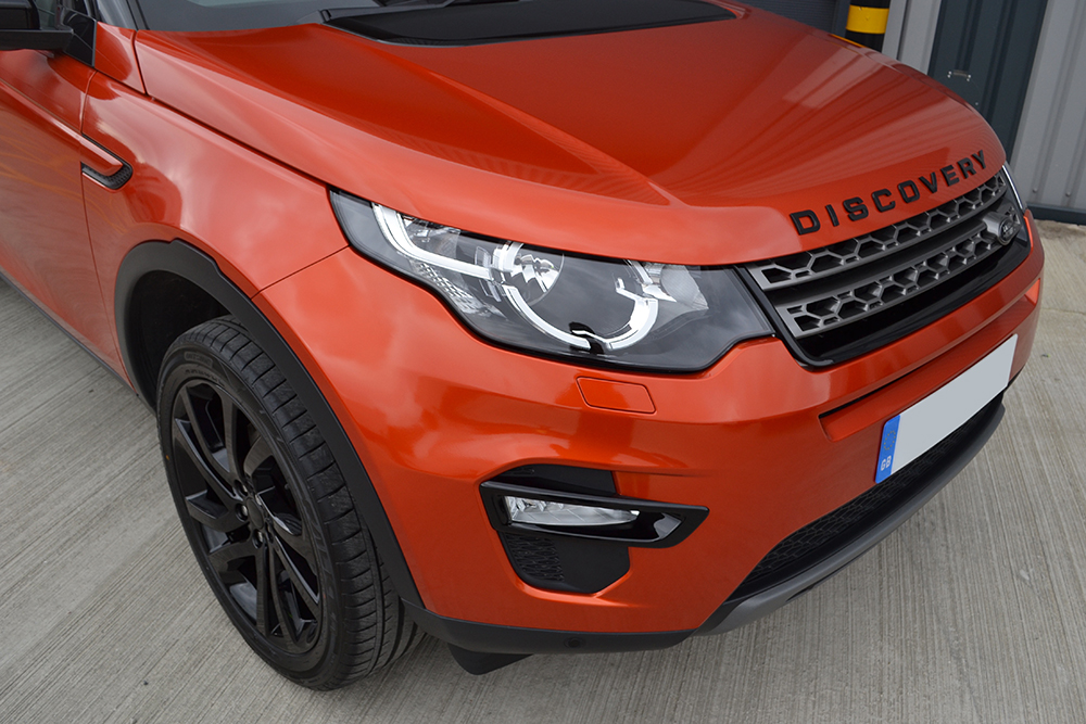 Land Rover Discovery Wrapped 3M 1080 Gloss Firey Orange Wrap