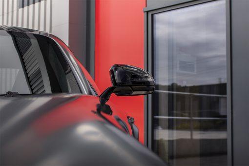 Mercedes Benz AMG GTR Satin Black Detailing Wing Mirror