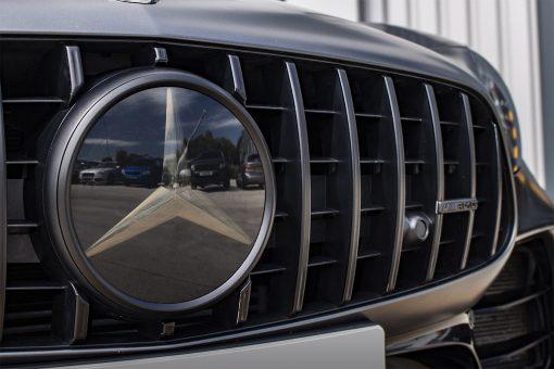Mercedes Benz AMG GTR Satin Black Detailing Grill