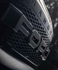 Ford Ranger Reforma Custom Black Vehicle Wrap Front Grill