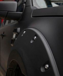 Ford Ranger Reforma Custom Black Vehicle Wrap Wheel Arch