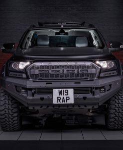 Ford Ranger Reforma Custom Black Vehicle Wrap Front