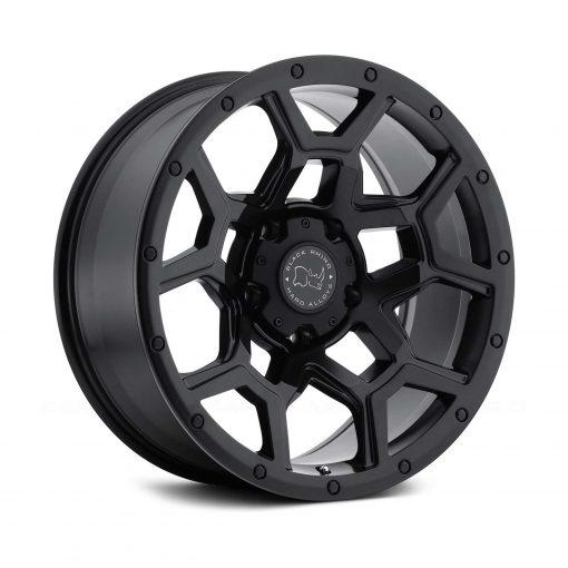 Black Rhino Overland Matte Black Wheel