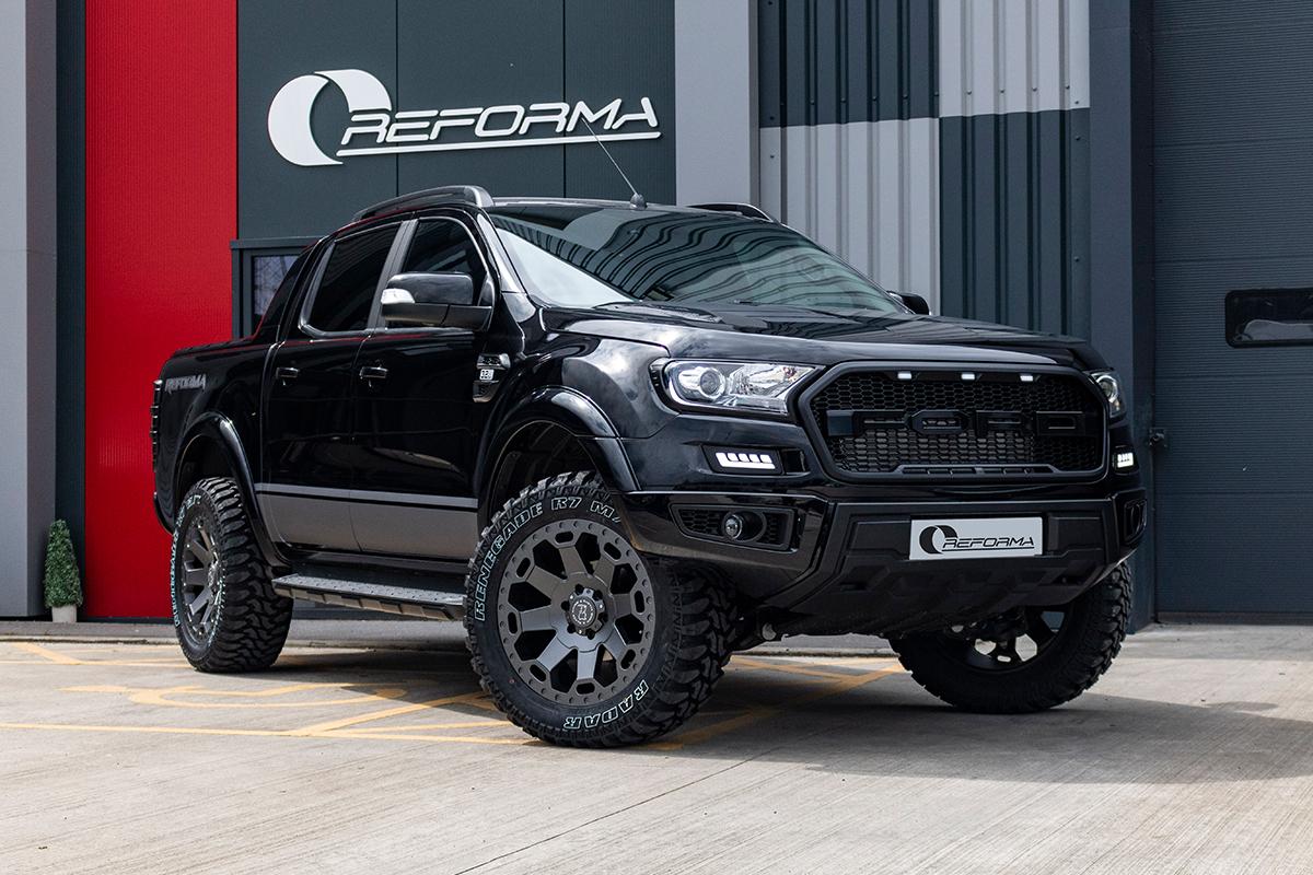 Car Paint Protection >> Ford Ranger Raptor Conversion - Reforma UK