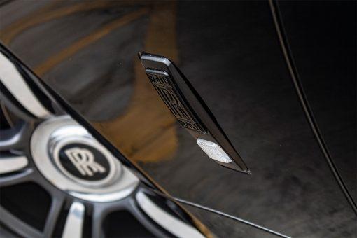 Rolls Royce Wraith Black Vehicle Wrap Side Badge