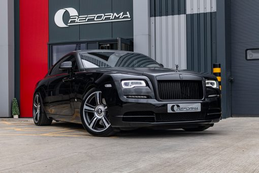 Rolls Royce Wraith Black Vehicle Wrap