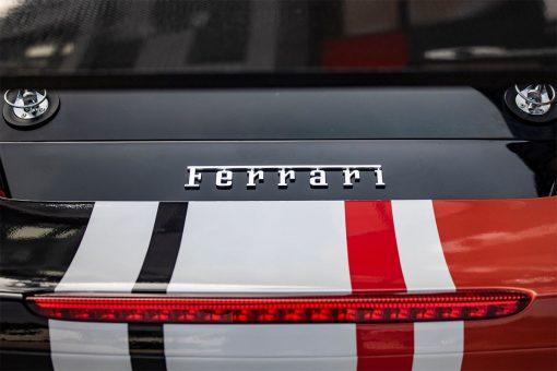 Ferrari 488 Challenge Edition Vehicle Wrap Rear Badge