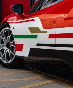 Ferrari 488 Challenge Edition Vehicle Wrap Stripe