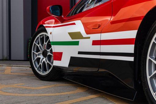 Ferrari 488 Challenge Edition Vehicle Wrap Stripe