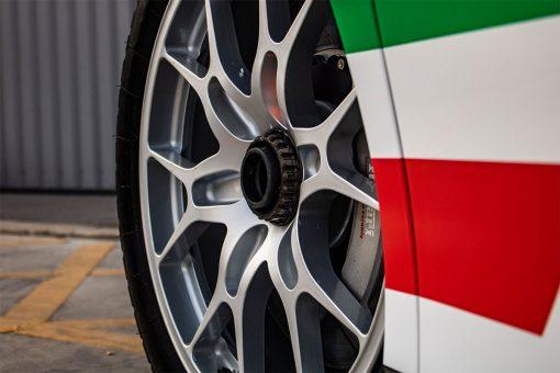 Ferrari 488 Challenge Edition Vehicle Wrap Wheel