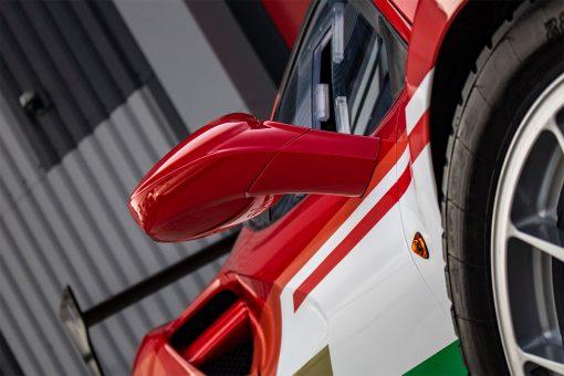 Ferrari 488 Challenge Edition Vehicle Wrap Wing Mirror