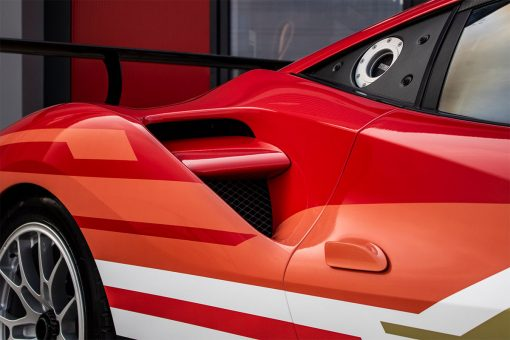 Ferrari 488 Challenge Edition Vehicle Wrap Rear Grill