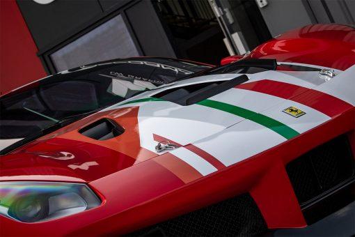 Ferrari 488 Challenge Edition Vehicle Wrap Bonnet