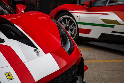 Ferrari 488 Challenge Edition Vehicle Wrap Headlight