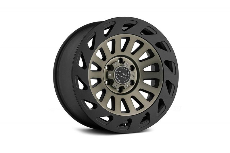 """<h3></noscript>20"""" Black Rhino Madness in Satin Black/ Tinted Finish</h3><p>One of the most timeless in Black Rhinos selection of off-road wheels, is the 20″ Madness. Featuring a dark-tint machined face with the matte black outer lip. A wheel within a wheel. An innovative new look which stands this wheel apart.</p><h4>from <span>£1340</span><br />inc. VAT</h4>"""