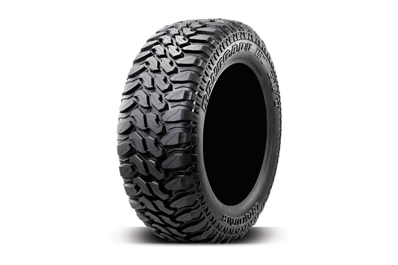<h3></noscript>Radar Renegade R7 – 33/12.5R20</h3><p>Designed specifically for off road travel, the renegade R7 Tyres are the perfect choice. Not only for performance but overall vehicle aesthetics. These tyres are suitable to fit vehicles off all sizes including ones with lift kits. The finishing touches coming in the form of side wall white tyre writing.</p><h4>from <span>£950</span><br />inc. VAT</h4>